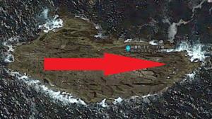 熊野の沖磯の鈴置島(すずこじま)の移動ルート