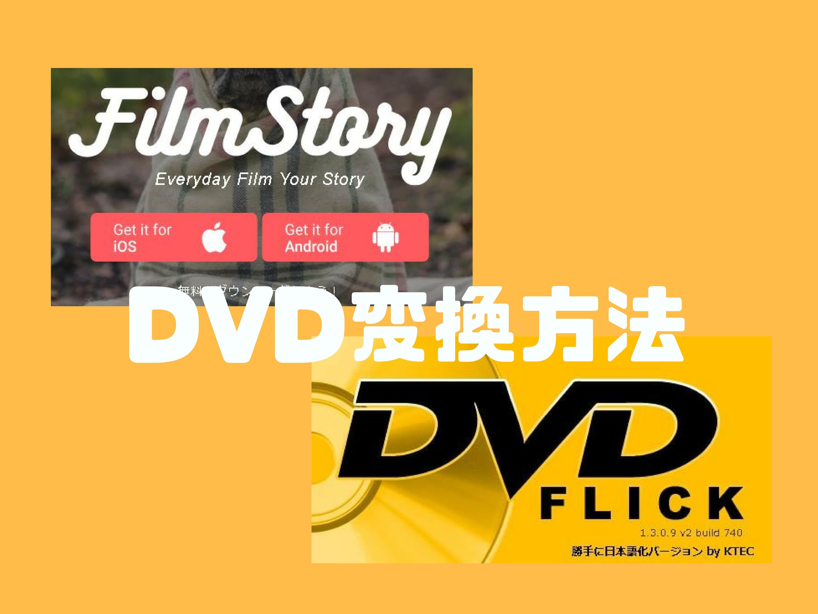 フィルムストーリーで作った動画を家庭用DVDプレーヤーで見る方法