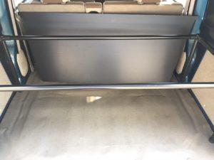 DA64V(エブリー)用の車中泊用の荷物置き兼テーブルをイレクターパイプで自作しました
